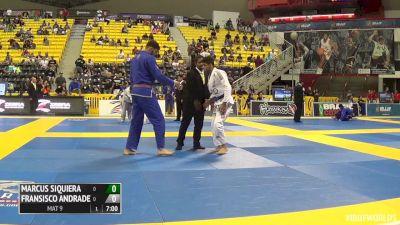 Marcus Siqueira vs Francisco Andrade IBJJF 2016 Worlds
