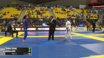 Emma Xiong vs Kessya Loio IBJJF 2016 Worlds