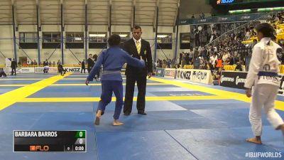 Cindy Lieu vs Margarita Ochoa IBJJF 2016 Worlds