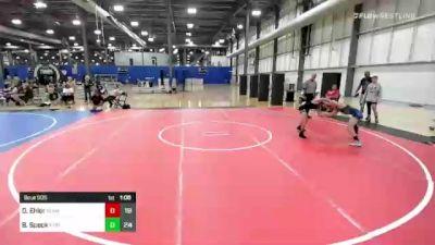 86 lbs Rr Rnd 3 - Devin Ehler, Team Gotcha vs Barret Speck, Xtreme Training