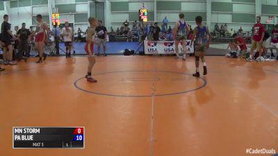 88 lbs Paxton Creese, MN vs Chris Kim, PA