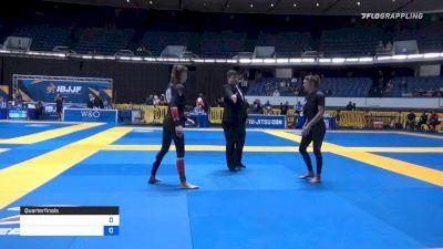 HANNAH KATHARINA RAUCH vs AMANDA LOEWEN 2019 World IBJJF Jiu-Jitsu No-Gi Championship