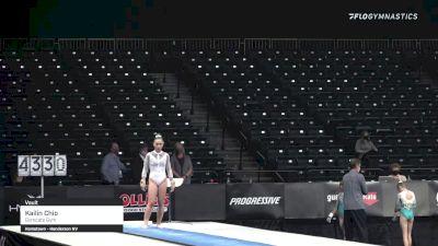 Kailin Chio - Vault, Gymcats Gym - 2021 GK US Classic & Hopes Championship