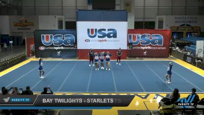 Bay Twilights - Starlets [2021 L1 Performance Recreation - 14 and Younger (NON) Day 1] 2021 USA Reach the Beach Spirit Competition