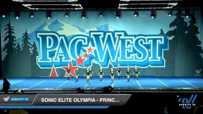 Sonic Elite Olympia - Princesses [2020 L1 Tiny Day 2] 2020 PacWest