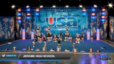 Jerome High School [2020 Co-Ed Varsity Show Cheer Intermediate Day 1] 2020 USA Spirit Nationals