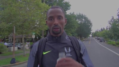 Hassan Mead on how he bounced back from the 10K to make the 5K team