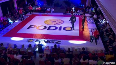 Angel Alderete vs Luis Schaerer Copa Podio South American Champions