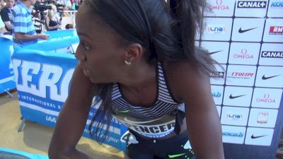 Ashley Spencer ready to focus on hurdles for Rio
