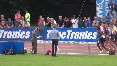 Men's 1500m, Final - Heat A - Souleiman 3:31, Hill 3:35