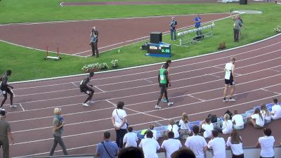 Men's 800m, Final - Heat A - Abda 1:46, Jock 1:48
