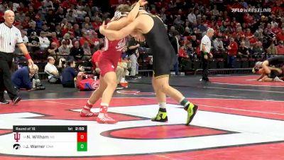 197 lbs Prelims - Nick Willham, Indiana vs Jacob Warner, Iowa