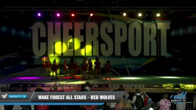 Wake Forest All Stars - Red Wolves [2021 L3 Youth - D2 Day 1] 2021 CHEERSPORT: Charlotte Grand Championship