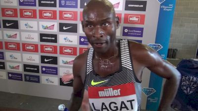 Bernard Lagat likes his chances in Rio 5k