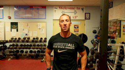 Squat Workout Directed by Oak Hill's Micah Kurtz