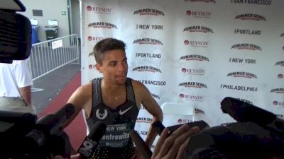 Matt Centrowitz keeps running underdistance in the buildup to Rio