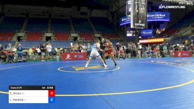 170 lbs Cons 8 #1 - Cesar Alvan, Massachusetts vs Logan Perkins, Florida