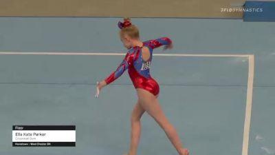 Ella Kate Parker - Floor, Cincinnati Gym - 2021 US Championships Day 1