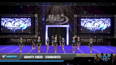 Gravity Cheer - Starbursts [2021 L1 Youth Day 2] 2021 The U.S. Finals: Ocean City