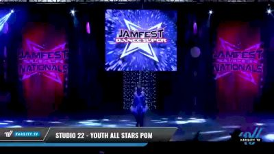 Studio 22 - Youth All Stars Pom [2021 Youth - Pom - Small Day 2] 2021 JAMfest: Dance Super Nationals