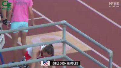 Girls' 300m Hurdles, Finals 1