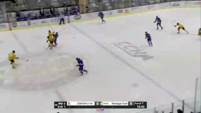 Replay: USNTDP U18's vs Michigan Tech - 2021 USA Hockey National vs Michigan Tech | Oct 16 @ 5 PM