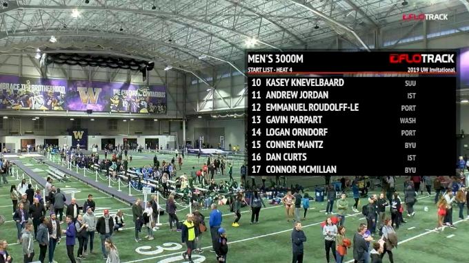 Men's 3k, Heat 4 - Bartelsmeyer Crushes 7:49