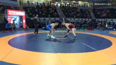125 kg Semifinal - Wyatt Hendrickson, Air Force Regional Training Center vs Konner Doucet, Cowboy RTC