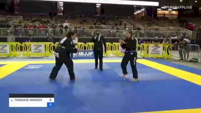 LARISSA TRINDADE MENDES vs COURTNEY STAUFFER 2021 Pan Jiu-Jitsu IBJJF Championship