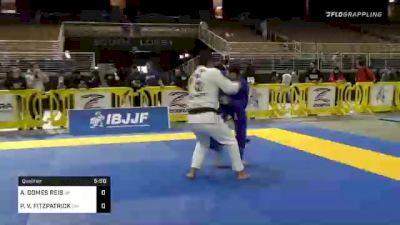 ANDRE GOMES REIS vs PHILLIP V. FITZPATRICK 2020 World Master IBJJF Jiu-Jitsu Championship