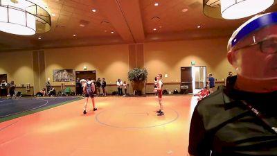 100 kg Rr Rnd 2 - Zachary Rooks, New York vs Kiernan Magee, Genesee Valley Wrestling Club