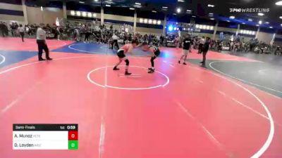 170 lbs Semifinal - Alex Munoz, Peterson Grapplers vs Dalton Loyden, Arizona