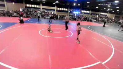 57 lbs Semifinal - Zander Melendez, Dethrone vs Domanic Serratos, Hawkeye/Speakeasy WC