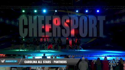 Carolina All Stars - Panthers [2021 L3 Senior - D2 Day 1] 2021 CHEERSPORT: Charlotte Grand Championship