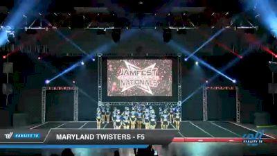 Maryland Twisters - F5 [2021 L6 Senior - Medium Day 2] 2021 JAMfest Cheer Super Nationals