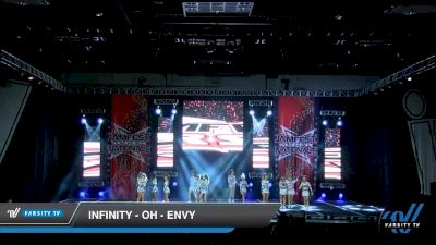 Infinity - OH - Envy [2020 L2 Senior - D2 - Small - B Day 2] 2020 JAMfest Cheer Super Nationals