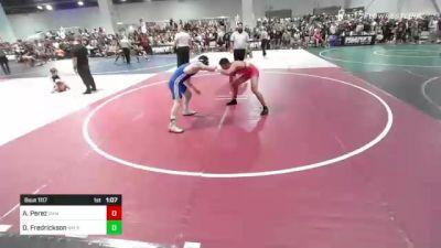149 lbs Rr Rnd 1 - Anthony Perez, Ram WC vs Dylan Fredrickson, Nm Pal