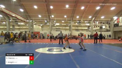 Prelims - Robert Patrick, UVA-Unattached vs Trent Knight, Buies Creek Regional Training Center