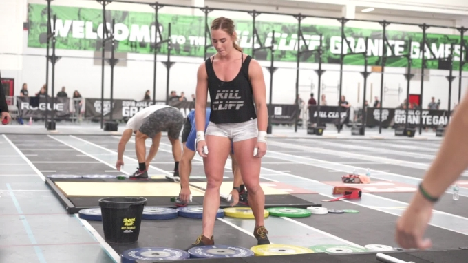 Brooke and Friends Hang Power Clean