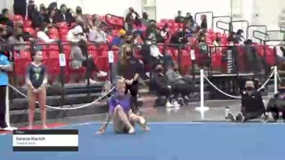 Serena Klarich - Floor, Texas Dreams - 2021 Region 3 Women's Championships