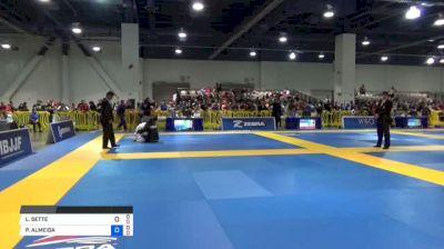 LUCAS SETTE vs PITER ALMEIDA 2018 American National IBJJF Jiu-Jitsu Championship   Grappling