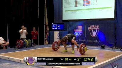 USAW Uni & U25 Nationals Highlights - Riotto