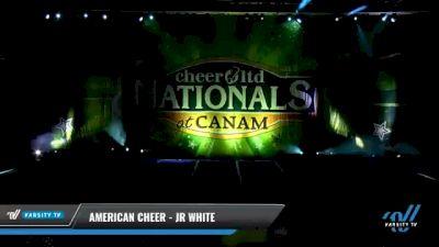 American Cheer - JR WHITE [2021 L1 Junior - Medium Day 2] 2021 Cheer Ltd Nationals at CANAM