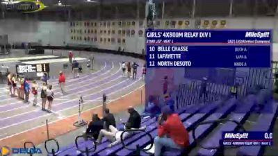 High School Girls' 4x800m Relay Division 1, Finals 1