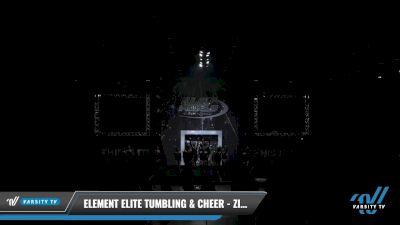 Element Elite Tumbling & Cheer - ZINC [2021 L3 Junior - Medium Day 2] 2021 The U.S. Finals: Louisville