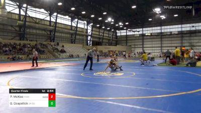 Quarterfinal - Patrick McKee, Minnesota vs Gregory Coapstick, Unattached-South Dakota State University