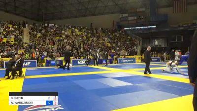 GERARD PIOTR LABINSKI vs ADAM WARDZINSKI 2019 World Jiu-Jitsu IBJJF Championship