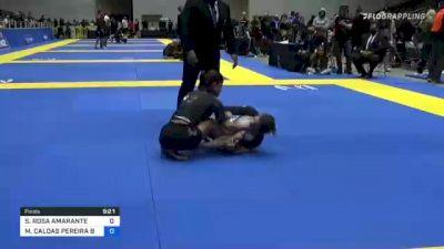 SOFIA ROSA AMARANTE vs MAYSSA CALDAS PEREIRA BASTOS 2021 World IBJJF Jiu-Jitsu No-Gi Championship