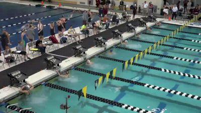 Purdue Invite, Women 200 Back B Final