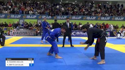 DIMITRIUS SOARES SOUZA vs HYGOR BRITO DA SILVA 2020 European Jiu-Jitsu IBJJF Championship